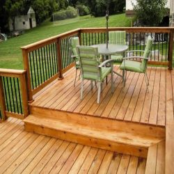 multi-level-cedarwood-deck-cleaning