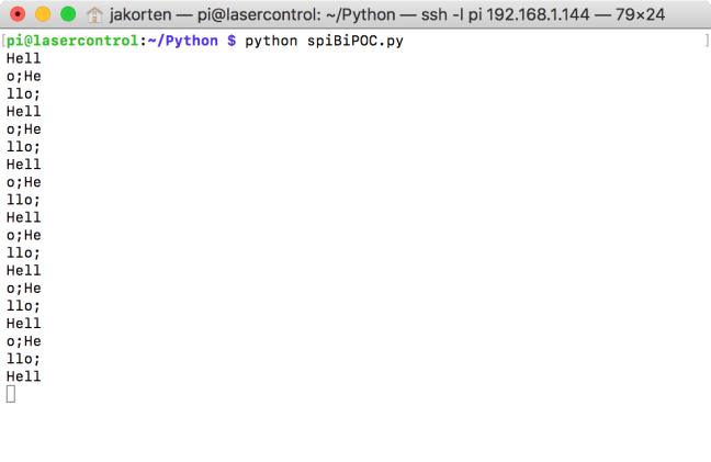 Bi-directional communication between a Pi and a SAMD21 | JKSOFT
