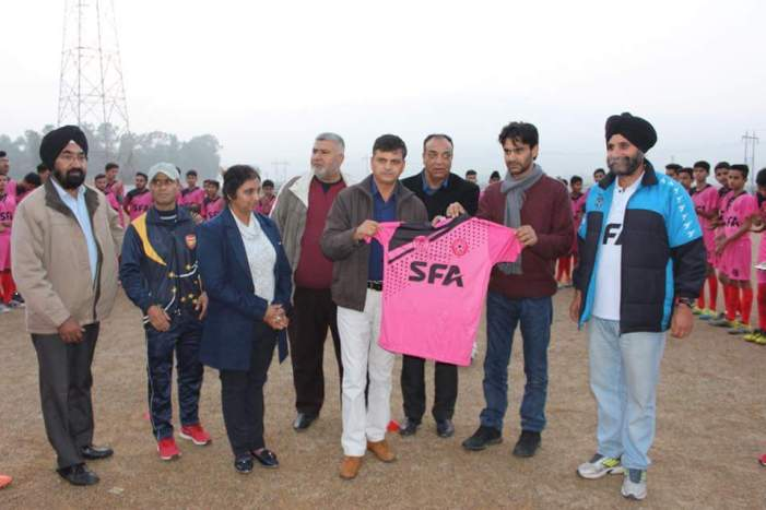 State Football Academy Kathua and Samba launched.
