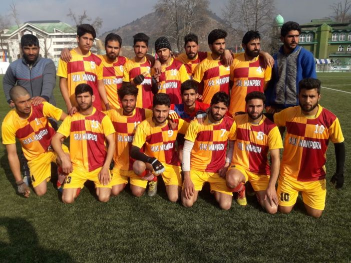 Mufti Mohammad Syed Memorial Gold Cup League Football Tournament starts.