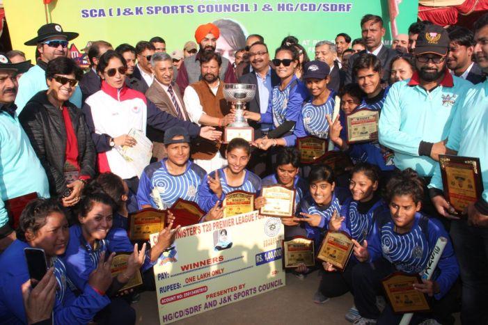 Jammu Princesses lift Chief Minister's T-20 Premier League