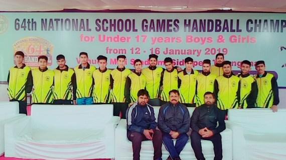 J&K Under 17 Handball team to play their pre-quater finals on Monday