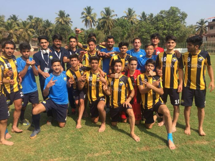 Junior Snow Leopards Real Kashmir FC U-18 defeats FC Mangalore by 1:0