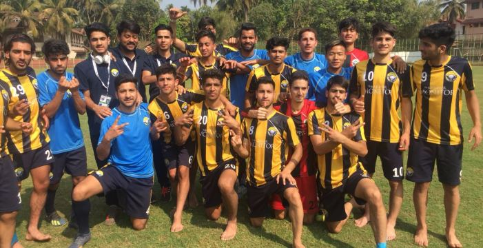 Junior Snow Leopards Real Kashmir FC U-18 defeats FC Mangalore by 1:0