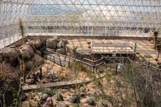 Inside the Desert at Biosphere 2