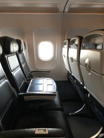 This is NOT a business class seat.