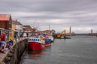 In the harbor at Whitby