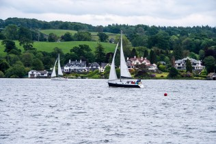 Sailboats on Lake Windermere