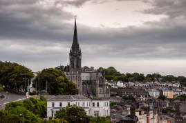The cathedral in Cobh