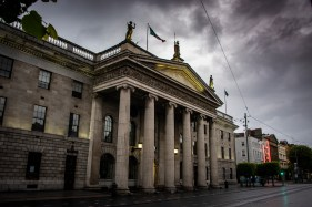 The Customs House in Early morning Dublin
