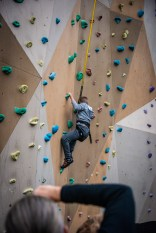 and Mason (my awesome grandson) go rock climbing