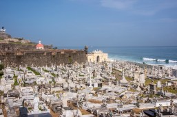 The Old San Juan cemetery