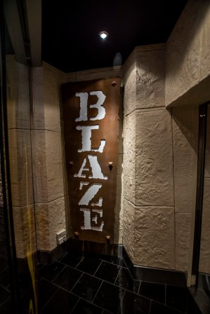 Blaze, another night-club type place on Deck 4