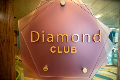 The Diamond Club for loyalty club members
