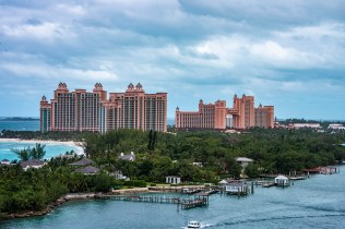 Atlantis: Nassau's claim to fame and a huge casino and much, much more...and really expensive.
