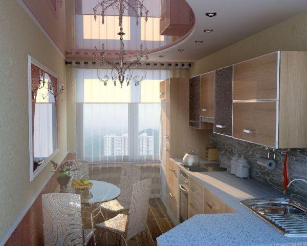 Какой потолок лучше сделать на кухне (56 фото) своими ...