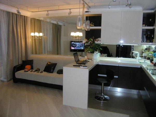 Кухня-гостиная 18 кв м (42 фото) – решения для ...