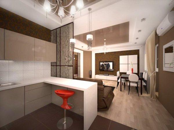 Дизайн кухни 10 кв м (48 фото): как сделать своими руками ...