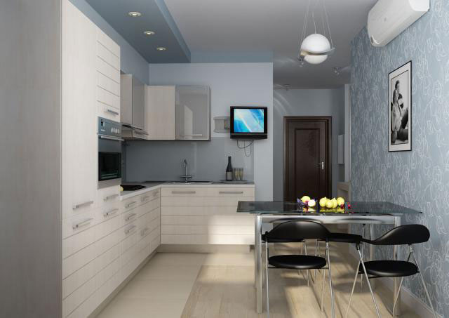 кухня 8 квадратов дизайн фото 6