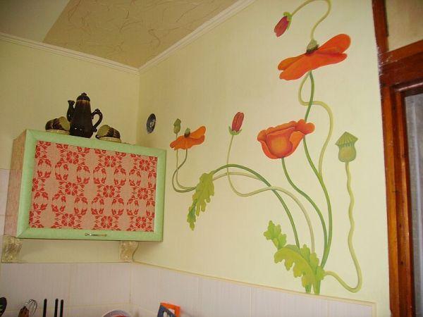 Чем отделать стены на кухне (51 фото), ремонт кухонного ...