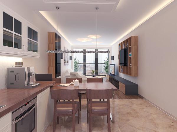 Кухня-гостиная 17 кв м (41 фото): видео-инструкция по ...