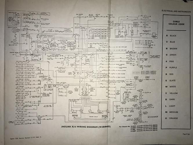 wiring problem on 1972 xj6  xj  jaglovers forums