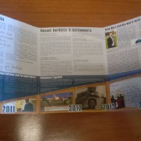 three fold newsletter design