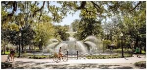 Fountain in Savannah