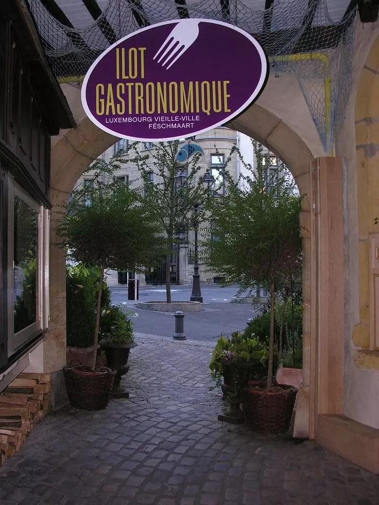 Ilot Gastronomique