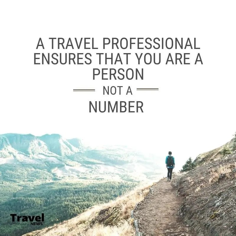 A travel agent is your travel professional