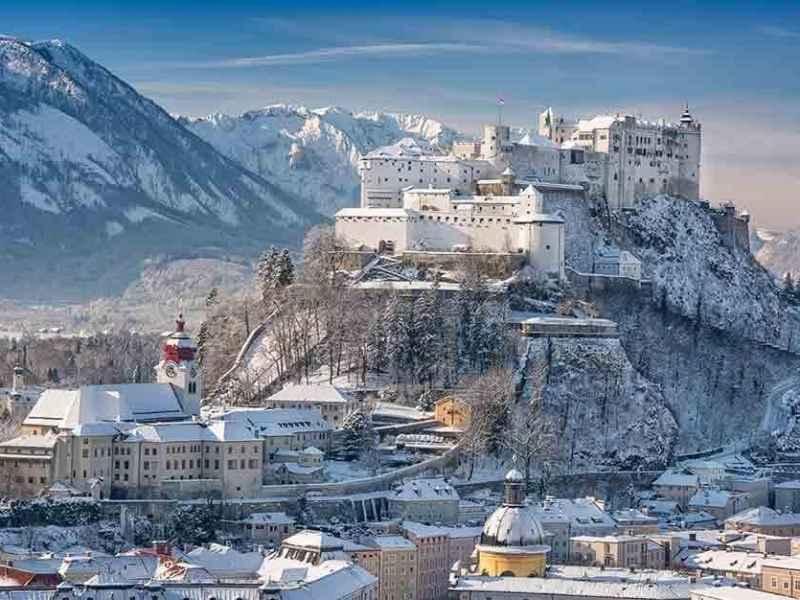 Salzburg in the Snow