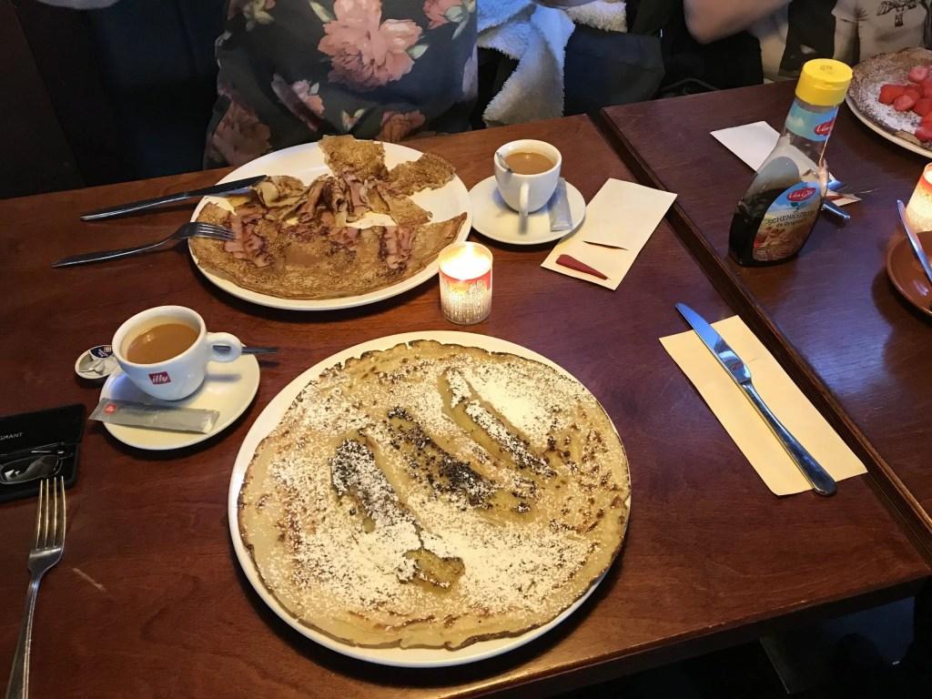 Pannenkoeken or Pancakes in Amsterdam