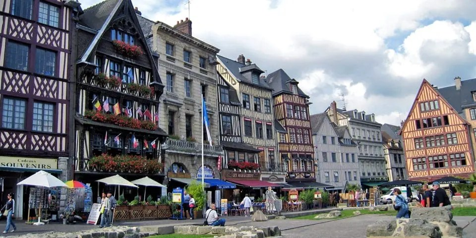 Rouen Market Square