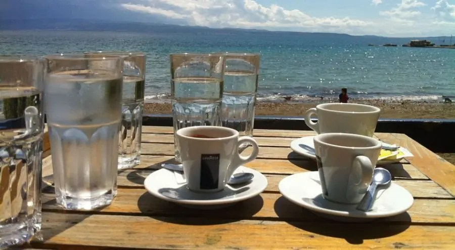 Coffee on the Waterfront