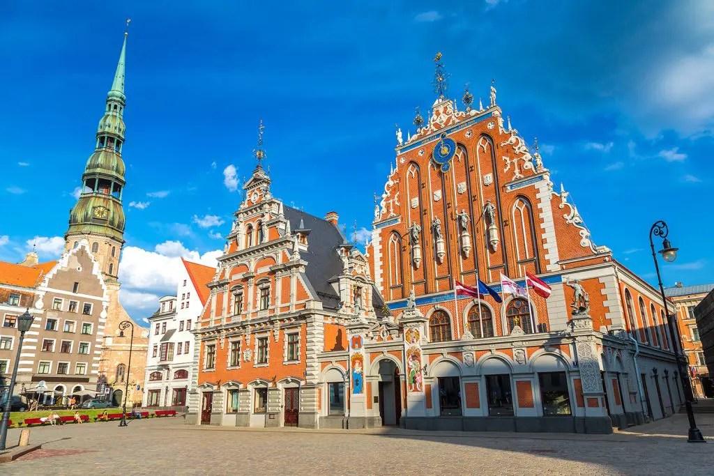 St. Peter's Church in Riga