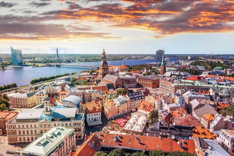A Look at Riga, Latvia