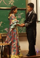 A Midsummer Night's Dream. Guy and girl students would ONLY touch hands like this for a performance; there's still cooties in Chinese colleges.