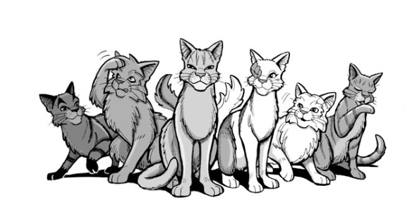How To Draw Graystripe James L Barry