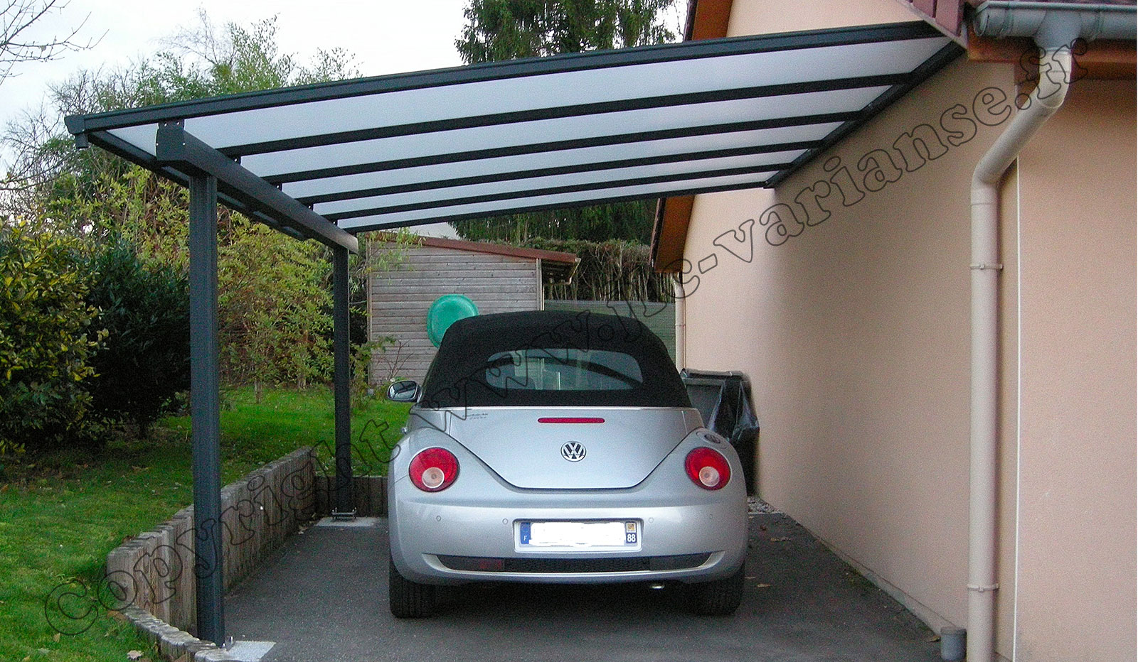 carport aluminium jlc varianse. Black Bedroom Furniture Sets. Home Design Ideas
