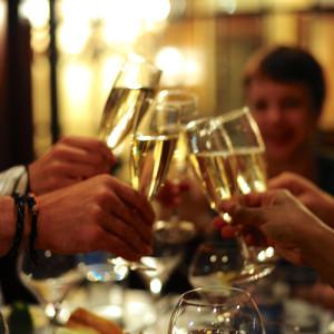 chau wine toast