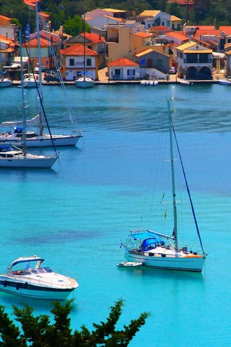 Paxos Island Ionian Sea Greece