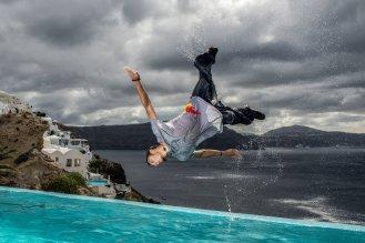 Santorini upside down © Predrag Vuckovic