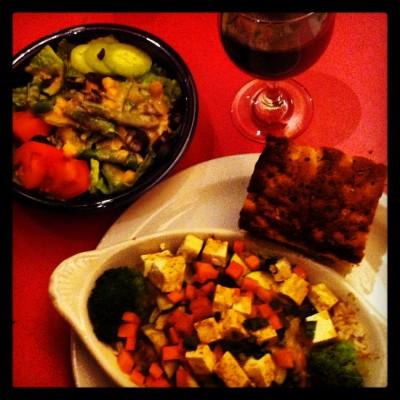 Poor Richards's Veggie & Tofu Bowl