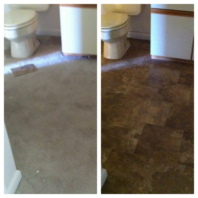 wheat berry and bean salad | condo renovations bathroom floor
