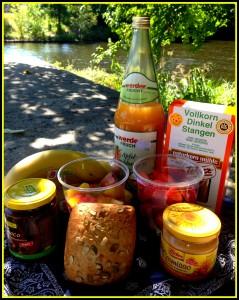 american vegan in germany | market lunch