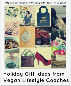 Holiday Gift Guide for Vegans on JL goes Vegan