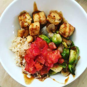 Simple air fryer tofu @jlgoesvegan