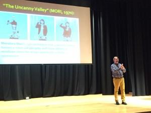 Michael Arnzen lectures, with bonus cackling.