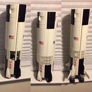 Saturn V stages 4-6