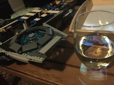 engine with wine